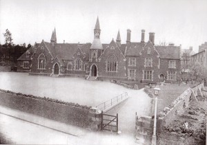 Photograph of Mill Lane School taken in the 1880s