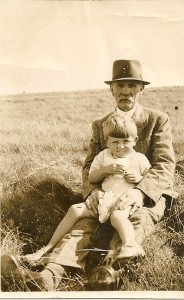 John William Corbett and his grandson