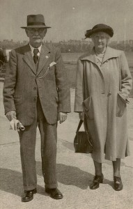 John William Corbett and his wife Gertrude