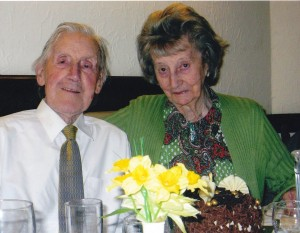 65th Wedding Anniversary 2012