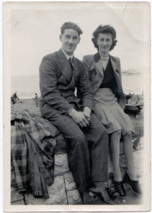 Wilf's honeymoon 1947