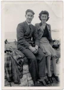 Wilf's honeymoon 1947